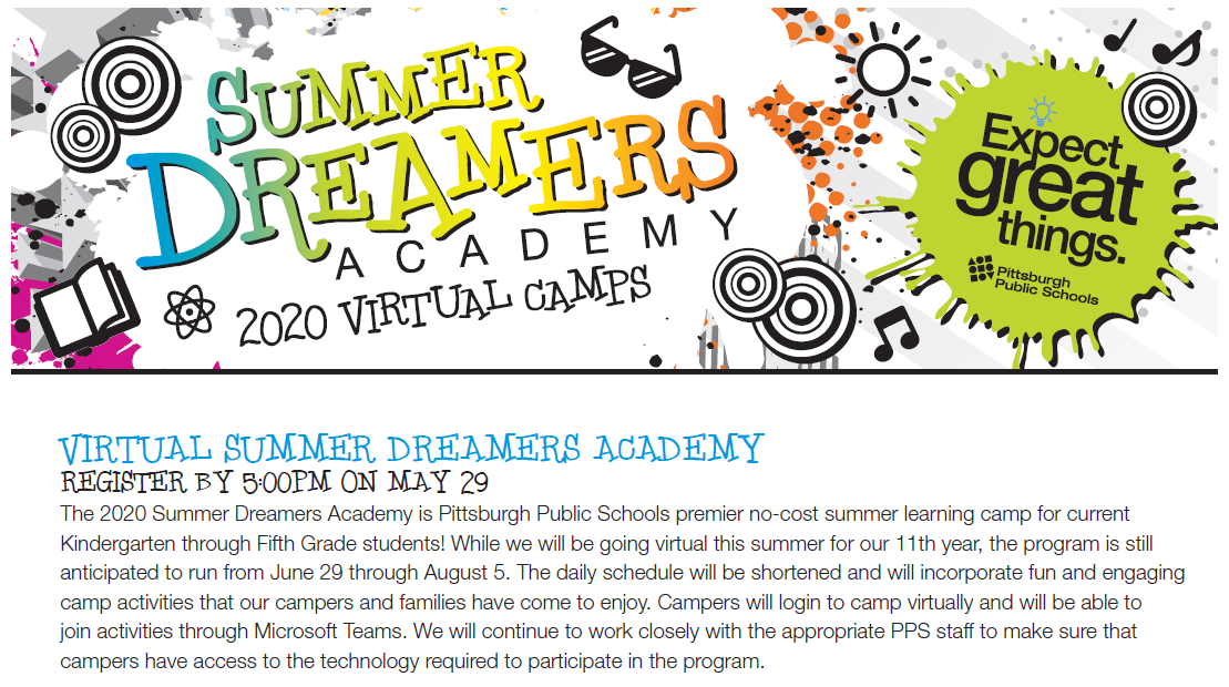 PPS Summer Dreamers Academy